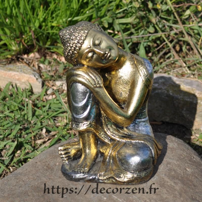 Un Buddha attendrissant, d'une zénitude totale