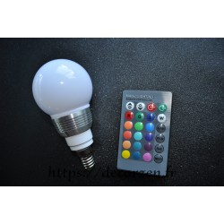 Ampoule LED 16 couleurs...
