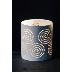 """Photophore """"Spirales"""" taille L"""