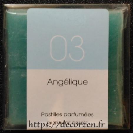 Angélique huile de parfum naturelle en tablette