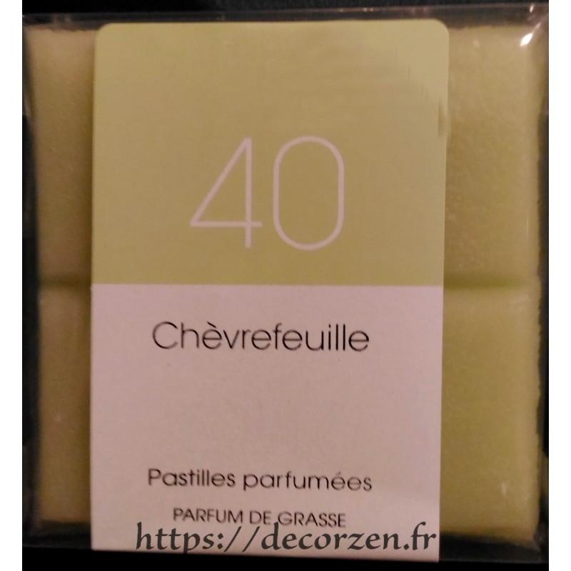 Huile de parfum de Grasse, naturelle et en tablette Chèvrefeuille