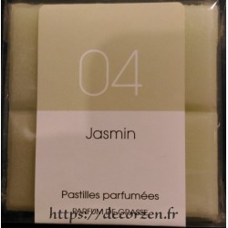 Tablette d'huile de Parfum de Grasse naturelle Jasmin