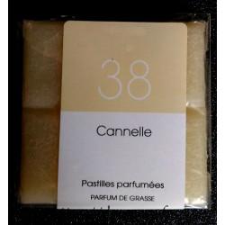 """Huile naturelle de parfum de Grasse en tablette """"Cannelle"""""""