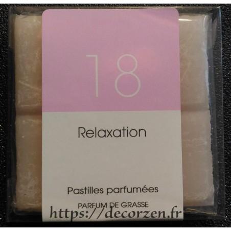 Tablette parfumée Relaxation, parfum naturel de Grasse