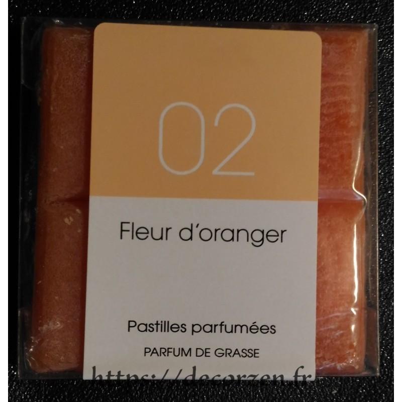 Tablette parfumée Fleur d'oranger, Parfum naturel de Grasse