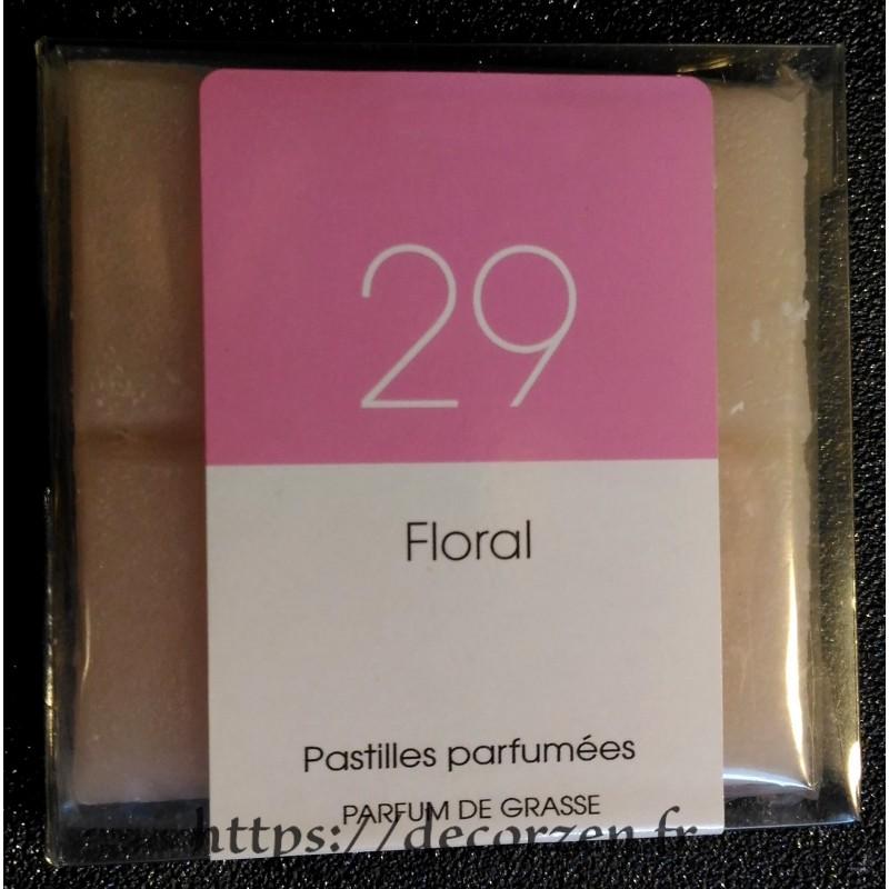 Tablette parfumée Floral, parfum naturel de Grasse
