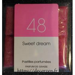 Tablette parfumée Sweat Dreams, parfum naturel de Grasse