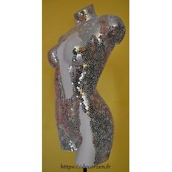 Lampe Femme 10 000 miroirs