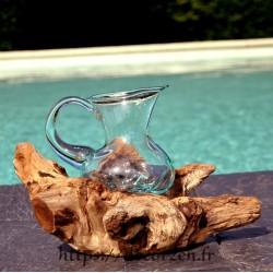 Carafe à vin en verre...