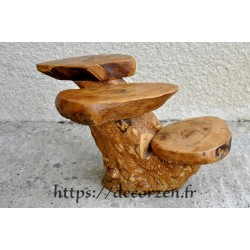 Étagère en bois de caféier