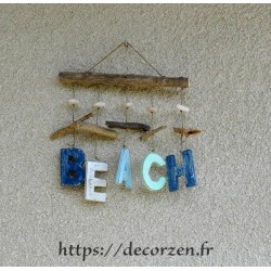 Beach, décoration murale en...