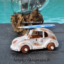 miniature cox en bois recyclé